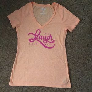 Live, Laugh, Learn, Love Graphic T-shirt